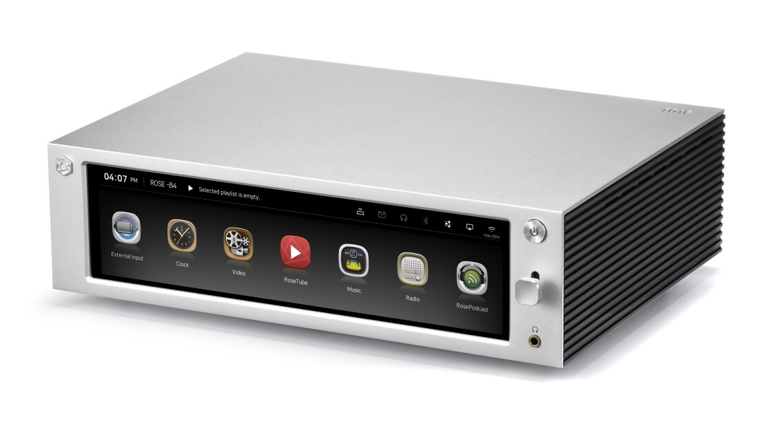 RS201 Rose Hifi audio media center