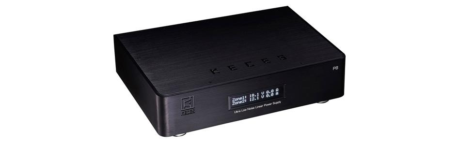 Keces P8 Alimentation Linéaire Régulée Ultra Faible Bruit 9 / 12V + 18 / 19V 4A