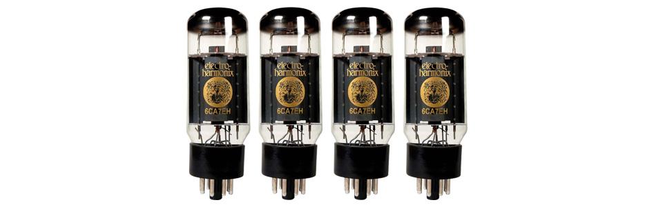 Electro Harmonix 6CA7 Tubes d'Amplification (Set x4 Appairés)