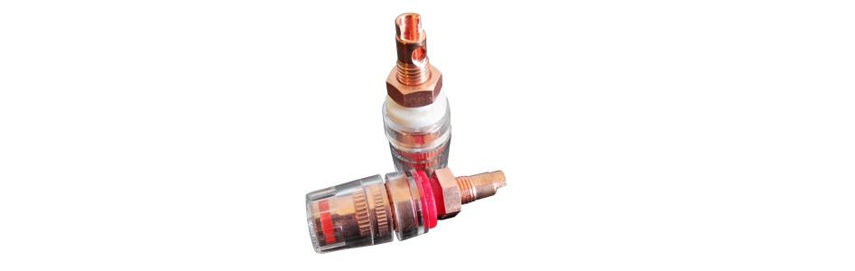 CC RCS S Borniers Court Cuivre Red Copper Isolés Traitement Cryogénique
