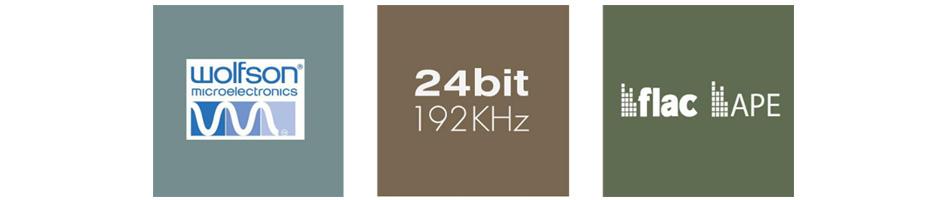 Arylic Cobblestone Récepteur WiFi AirPlay UPnP DLNA Multiroom 24bit 192kHz