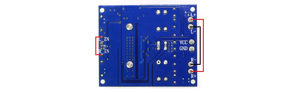FX-AUDIO TDA7492 Module Amplificateur TDA7492 2x50W 8Ω BTL 100W 4Ω