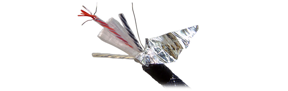 Neotech NEI-2001 Câble de Modulation Argent UP-OCC Blindé PTFE Ø11mm