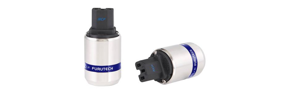 Furutech FI-48 NCF (R) Connecteur IEC C15 Cuivre Plaqué Rhodium Traitement Alpha NCF Ø20mm