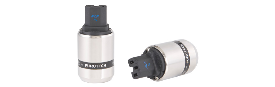 Furutech FI-48 NCF (AG) Connecteur IEC C15 Cuivre Plaqué Rhodium Traitement Alpha NCF Ø20mm