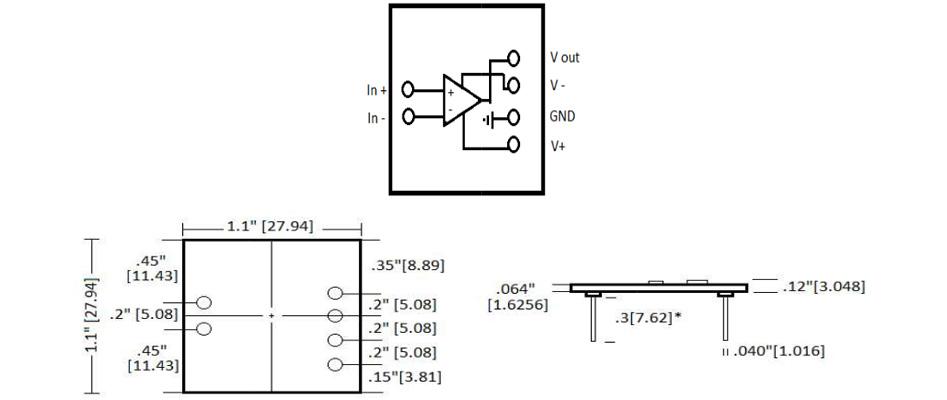 SparkoS Labs SS2590 AOP Discret Simple (Unité)