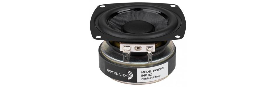 Dayton Audio PA83-8 Haut-Parleur Large Bande 30W 8 Ohm 85.6dB 80Hz-20kHz Ø7.6cm