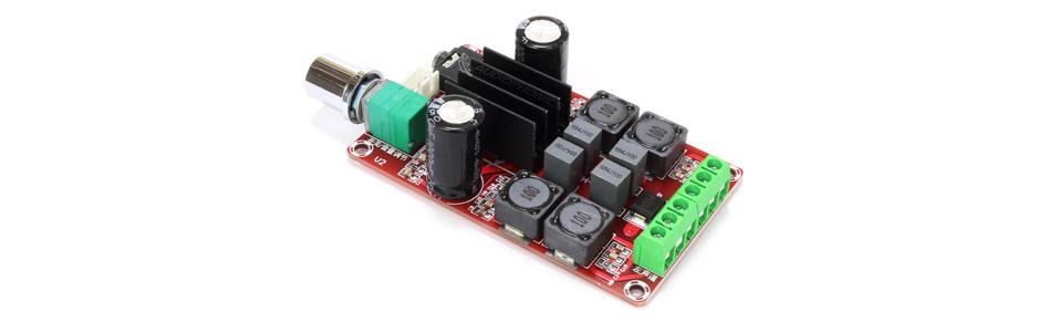 Module Amplificateur TPA3116D2 2x30W 8 Ohm avec Contrôle de Volume