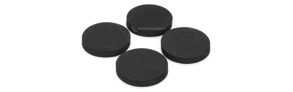 Patin Absorbeur de Vibration EVA Ø31x5mm (Set x4)