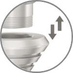 Viablue Tri Spikes Pointes de Découplage Ø35mm (Set x4)