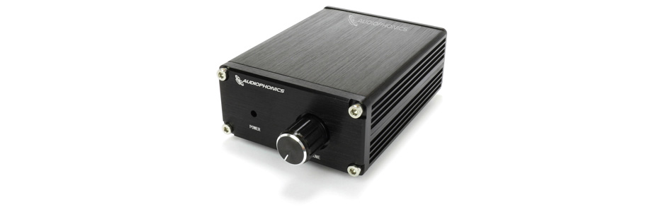 Audiophonics TPA-M50 Amplificateur Mono Class D TPA3116 1x50W 8Ω Noir