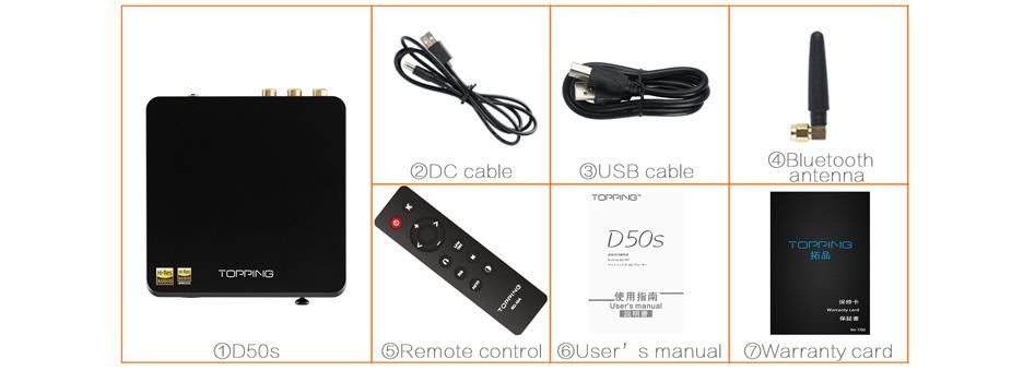 DAC 2x ES9038Q2M Bluetooth aptX LDAC 32bit 768kHz DSD512 XMOS U208Black<span id=