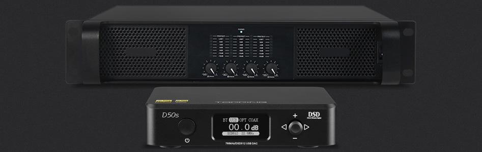 DAC 2x ES9038Q2M Bluetooth aptX LDAC 32bit 768kHz DSD512 XMOS U208Black