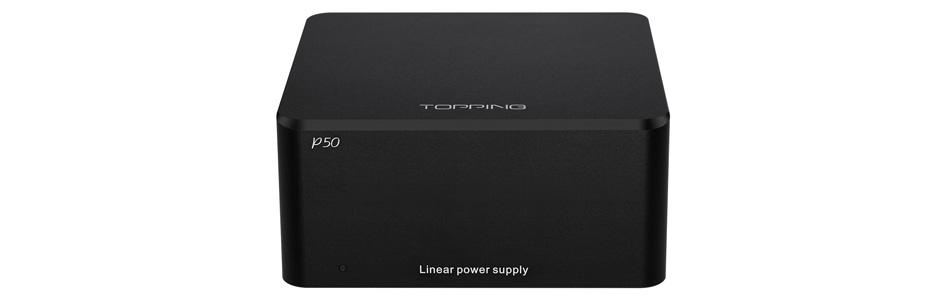 Topping P50 Alimentation Linéaire Régulée Ultra Faible Bruit 2x 5V 1A + 15V 1A
