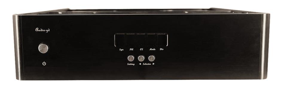 Audio-GD R-8HE DAC R2R Symétrique Discret Alimentation Régénérative 32bit 384kHz0 DSD