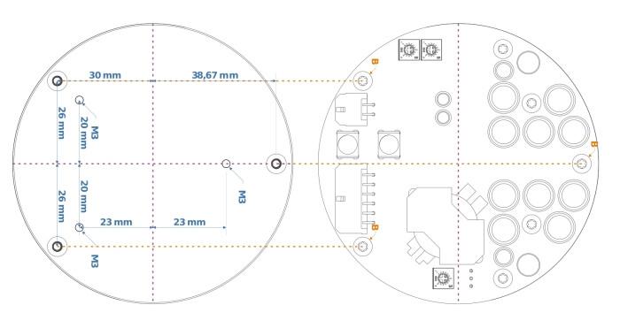 Module amplificateur entraxes NC400 montage tuto manuel