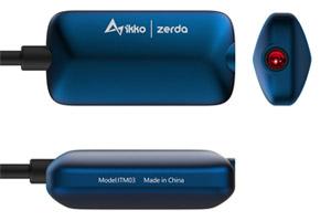 Ikko Zerda Adaptateur USB-C vers Jack 3.5m / Optique Mini-Toslink CS43198 32bit 384kHz DSD256