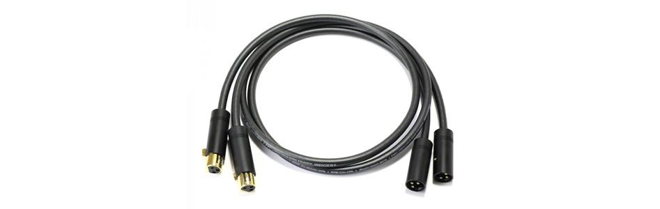 Audiophonics STEALTH Câble de modulation stéréo XLR