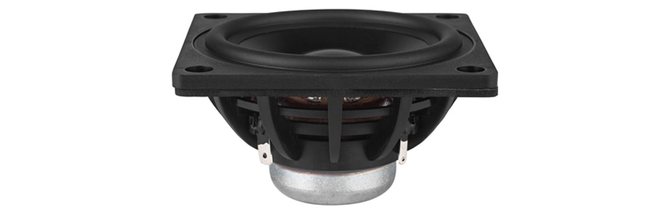 Dayton Audio DMA80-4 Haut-Parleur Large Bande Aluminium 25W 4Ω 88dB 90Hz-20000Hz Ø7.6cm