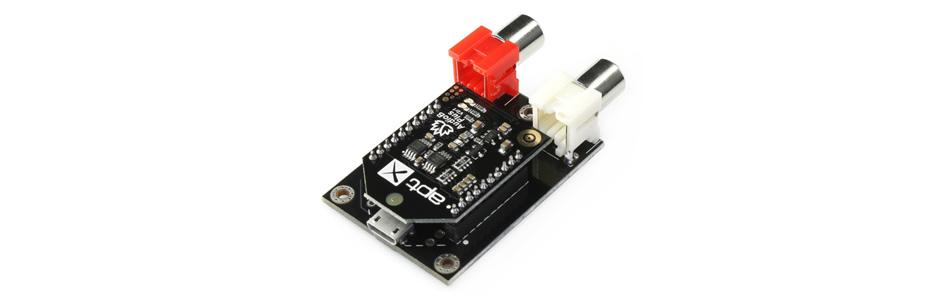 TinySine AudioB Plus Module récepteur Bluetooth 4.0 aptX RCA