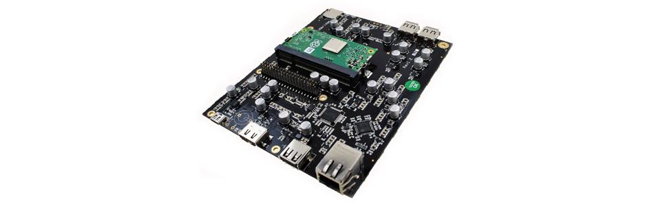 Lecteur Réseau Raspberry Pi Compute Diet Pi Interface USB Faible Bruit