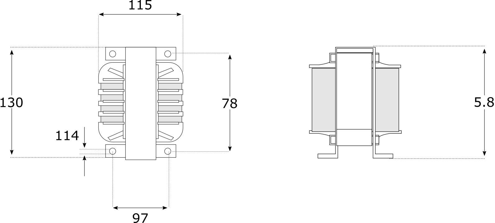Dimensions Mundorf Zero Coil