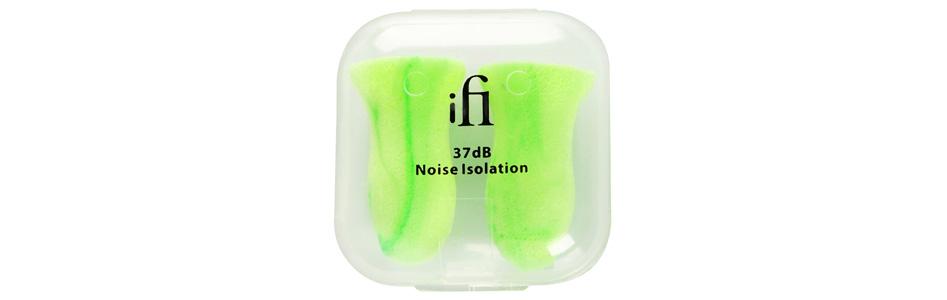 iFi Audio Ear Plugs Bouchons d'Oreilles 37dB (8 Paires)