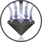 Viablue QTC Spikes Pointes de Découplage Argent (Set x4)