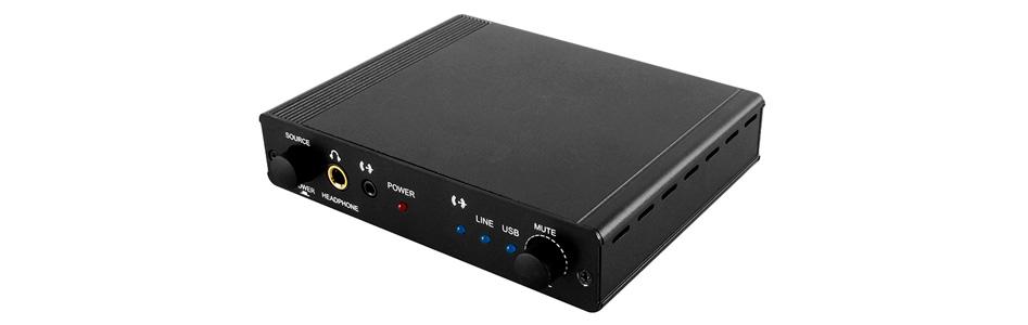 DAC USB Préamplificateur Amplificateur Casque 24bit 192kHz