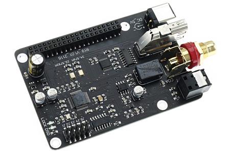 Interface numérique AK4118 SPDID I2S HDMI LVDS Raspberry Pi 3/4