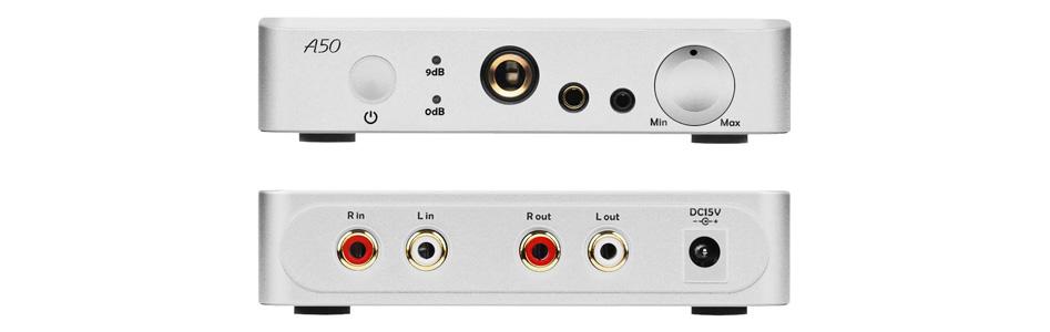 Topping A50 Amplificateur Casque Symétrique Argent