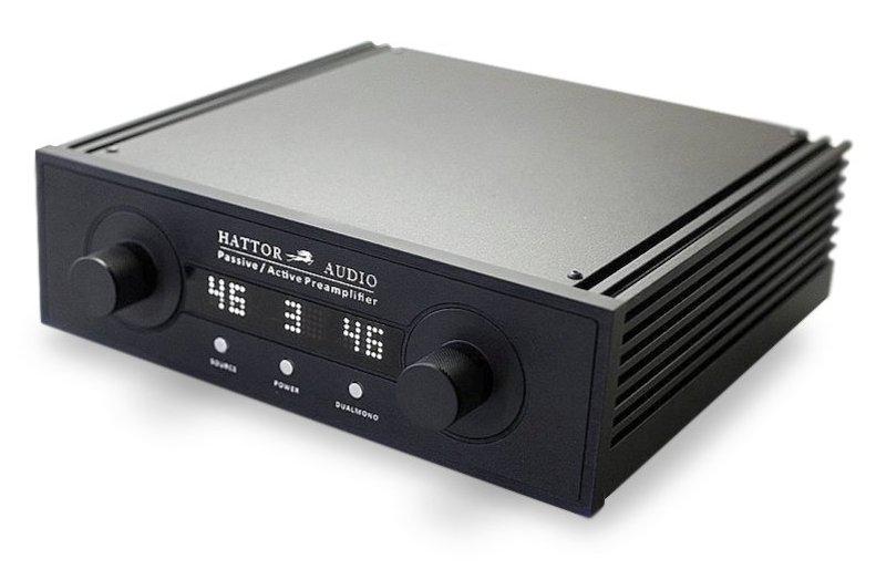 motorized passive preamp Hattor Audio