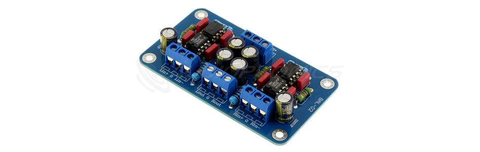 Module désymétriseur SSM2141 NE5534P