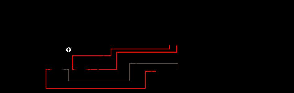 Vumètre rond rétroéclairage jaune dB Ø45mm (La paire)