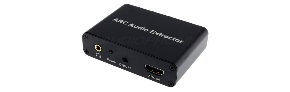 Extracteur HDMI ARC vers SPDIF Coaxial Optique RCA Jack 3.5mm DTS Dolby AC-3 5.1