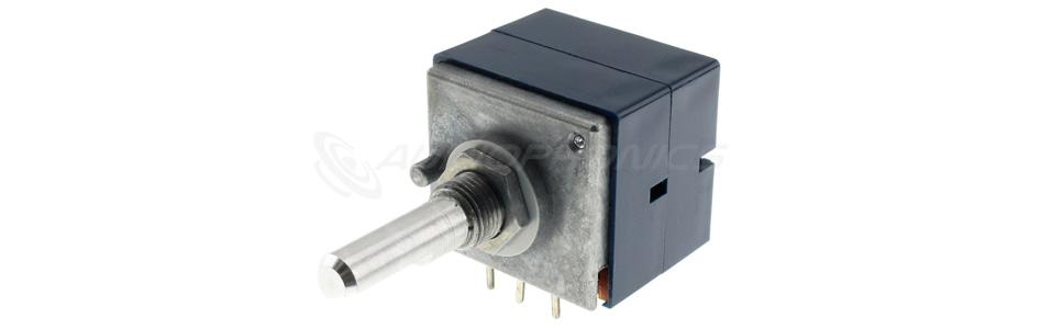 ALPS 50KAX2 Potentiomètre Stéréo Axe Méplat Haute Qualité 50kΩ