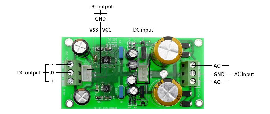 Module d'alimentation linéaire double LT3045 LT3094 +/-15VDC