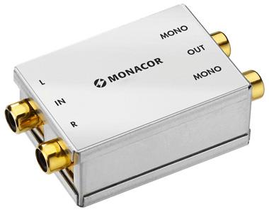 Monacor SMC-1 Convertisseur Stéréo vers Double Mono