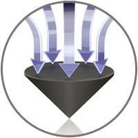 Viablue HS Spikes Pointes de découplage noir (Set x4)