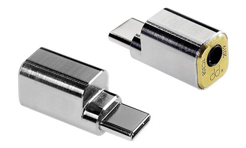 TC35B Adaptateur DAC USB-C Mâle vers Jack 3.5mm Femelle CTIA 32bit 384kHz