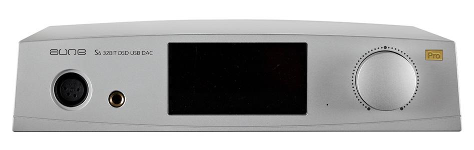 Aune S6 pro Amplificateur Casque DAC Symétrique AK4497 XMOS 32bit 768kHz DSD512 Argent