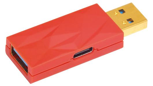 iFi Audio iDefender+ Filtre Anti Boucle de Masse USB-A Femelle vers USB-A Mâle