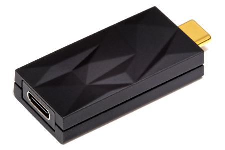 iFi Audio iSilencer+ Suppresseur de Bruit EMI RFI USB-C Mâle vers USB-C Femelle