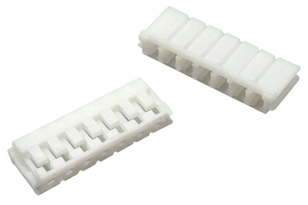 Boîtier EH 2.54mm Femelle 7 Voies Blanc (Unité)
