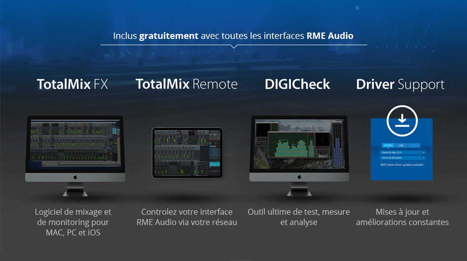 RME Audio Babyface Pro FS Interface Numérique USB 24 Canaux 192kHz