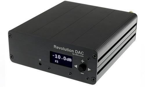 Allo Revolution DAC USB ES9038Q2M 384kHz DSD512