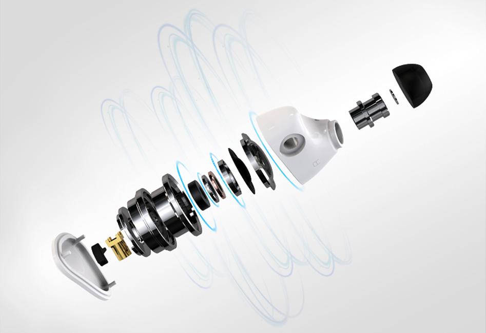 iBasso IT00 Écouteurs Intra-Auriculaires Haute Définition Membranes Graphène