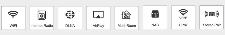 Arylic Up2Stream Pro V3 Récepteur WiFi 2.4G Bluetooth 5.0 vers I2S SPDIF Multiroom 24bit 192kHz