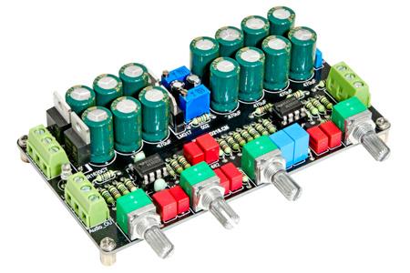 Module Préamplificateur Atténuateur de Volume avec Contrôle de Tonalité 2x NE5532