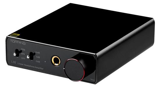 Topping L30 Amplificateur Casque Noir